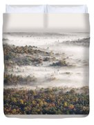 Autumn Fog Duvet Cover