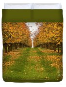 Autumn Foliage Duvet Cover