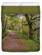 Autumn Forest Path - Duvet Cover