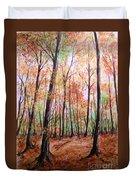 Autumn Forrest Duvet Cover