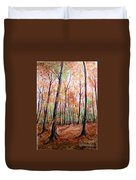 Autumn Forrest Duvet Cover
