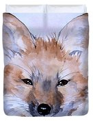 Autumn Fox Duvet Cover