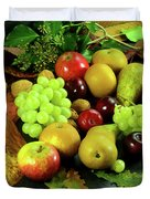 Autumn Fruits. Duvet Cover