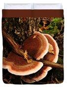 Autumn Fungi Duvet Cover