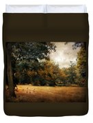 Autumn Geese Duvet Cover