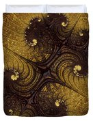 Autumn Glows In Gold Duvet Cover