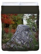 Autumn Gone-by Duvet Cover