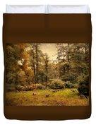 Autumn Grazing Duvet Cover