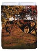 Autumn Grove Duvet Cover