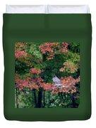 Autumn Hawk Square Duvet Cover