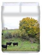 Autumn Herd Duvet Cover