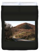 Autumn Hill Near Hancock Maryland Duvet Cover