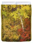 Autumn Impressions Duvet Cover
