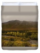 Autumn In August Brooks Range Alaska Duvet Cover