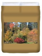 Autumn In Baden Baden Duvet Cover by Travel Pics