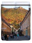 Autumn In Brasov Duvet Cover