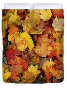 Autumn In Canada Duvet Cover