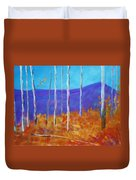 Autumn In Cloudcroft Duvet Cover