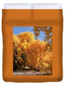 Autumn In Curtin Duvet Cover