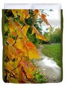 Autumn In Ellenberger Duvet Cover