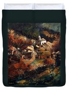 Autumn In Frahan Duvet Cover