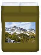 Autumn In French Alps - 18 Duvet Cover