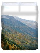 Autumn In Glacier Duvet Cover
