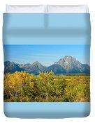 Autumn In Grand Teton National Park Duvet Cover