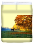 Autumn In Kathrines Way Duvet Cover