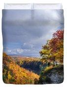 Autumn In Letchworth Duvet Cover