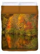 Autumn In Monroe Duvet Cover