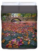Autumn In New England Duvet Cover