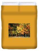 Autumn In Olde Virginia Duvet Cover