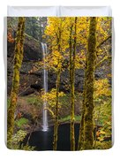 Autumn In Silver Falls Duvet Cover