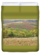Autumn In Slope County Duvet Cover