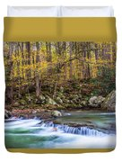 Autumn In Smoky Mountains National Park  Duvet Cover