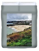 Autumn In St Ives Duvet Cover