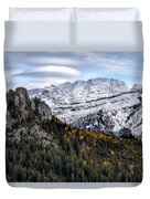 Autumn In Switzerland Duvet Cover