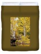 Autumn In Teton National Park Duvet Cover