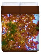 Autumn In The Canopy Duvet Cover