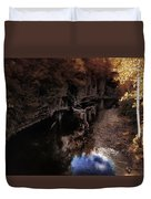 Autumn In The Canyon Duvet Cover