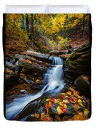 Autumn In The Catskills Duvet Cover