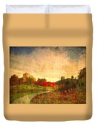 Autumn In The City 2 Duvet Cover
