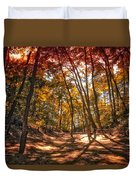 Autumn In The Dunes Duvet Cover