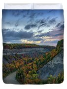 Autumn In The Gorge Duvet Cover
