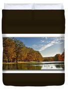 Autumn In The Hill Country Duvet Cover