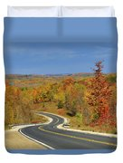 Autumn In The Hockley Valley Duvet Cover