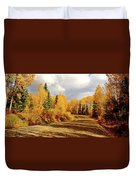 Autumn In The North Duvet Cover