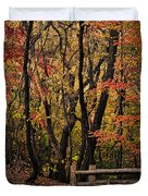Autumn In The Rambles Duvet Cover