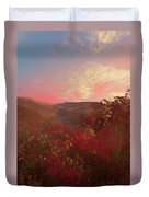 Autumn In The Rolling Hills Duvet Cover